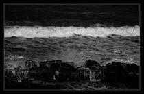 Rushing waves by Alexandru Busuioc