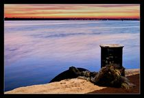 Siutghiol lake sunset by Alexandru Busuioc