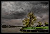 Tabacarie lake, under stormy clouds by Alexandru Busuioc