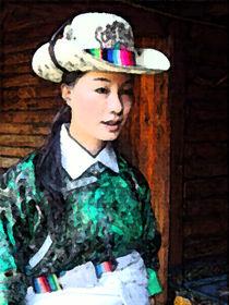 Schönheit in Kunming in China von Hermann Bauer