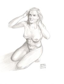 Nude girl. by Natanael Fuentes