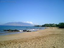 Beach in Maui von Jennifer Jenesis Photography