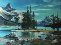 Canadian Landscape by Apostolescu  Sorin