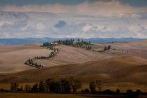 Landschaft der Toskana by Thorsten Holland