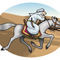 Arabian-cavalier-in-the-desert