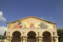 Jerusalem, the Basilica of the Agony at Gethsemane by Hanan Isachar