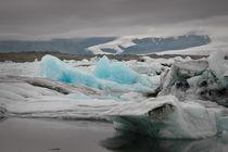 Grey skies, blue ice von Thomas Klomp