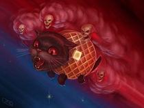 Tac Nayn (Waffle Cat) by J.R.  Barker