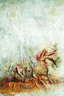 abstrakte Malerei  von Bernhard Kosten