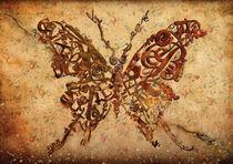 Butterfly sepia von alexey-shpagin