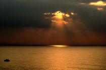 Mediterranean sunrise by Ramon Cami
