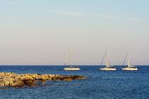 3 boats von Ivan Coric