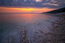 Red sunset von Ivan Coric