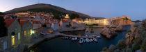 Evening in Dubrovnik by Ivan Coric