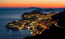 Night is comming in Dubrovnik von Ivan Coric