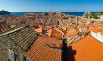 Roofs of Dubrovnik by Ivan Coric