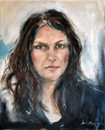 Selfportrait by Leanie Mentz