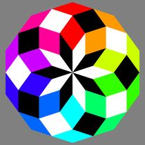 decagon crazy color puzzle by Chandler Klebs