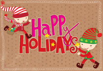 Happy Holidays by Eulalia Mejia