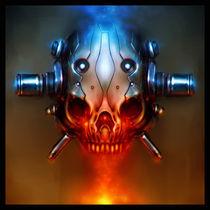 Cyber-Skull by Mariusz Siergiejew