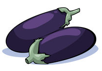 Vegetables series: eggplants by William Rossin