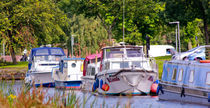 Boats on the Canal von Buster Brown Photography