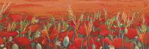 Poppy field von Katia Levkova