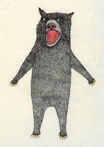 Confused Bear von Magda  Boreysza