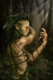 Nymph by Zsuzsanna Tasi