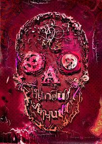 Skull pink von alexey-shpagin
