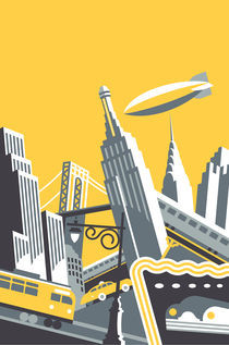 Manhattan by Daniel Pelavin