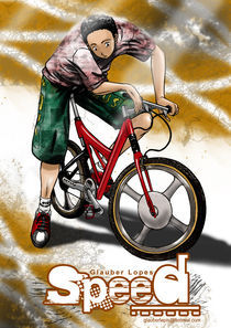 Speed cover first issue by Glauber Lopes
