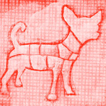 Cutout Chihuahua von Kuizin studio