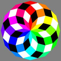 Dodecagon-crazy-colors