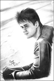 Daniel Radcliffe Sketch Art by Sumera Areemus