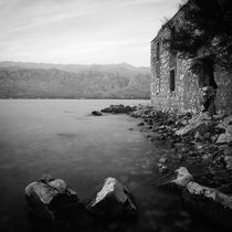 Old house by the sea by Ivan Coric