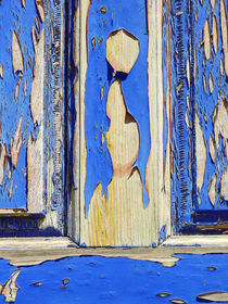 Old Santorini Door 2 by Almut Rother