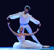Ballet couple by ilja van de pavert