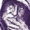 Purple-homeless-man
