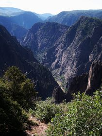 Black Canyon of the Gunnison by Shaelene Love-Chezem