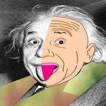 Einstein Half N' Half by Anthony Zabala