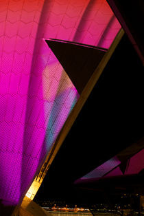 Sydney Opera House Sails at Vivid Sydney von Tim Leavy