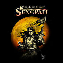 Senopati, The Moon Knight by widaypanca