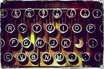 Enigma - Typewriter I von Sybille Sterk