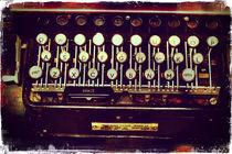Enigma - Typewriter II by Sybille Sterk