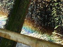 Saline mit Regenbogen von Ka Wegner