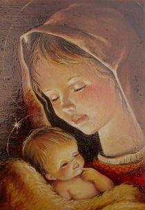 Madona Icon von Apostolescu  Sorin