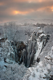 Winter at Plitvice lakes von Ivan Coric