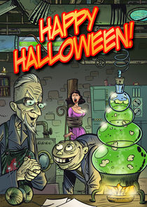 Happy Halloween 01 by Michael Vogt