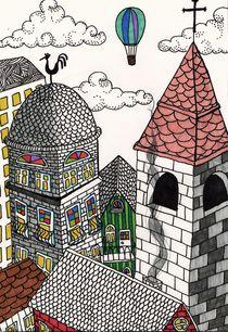 rooftops by Elvina  Engel